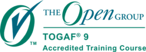The Open Group TOGAF 9 accredited training course logo